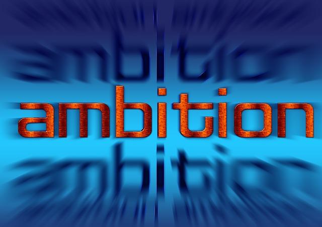 ambitionの文字