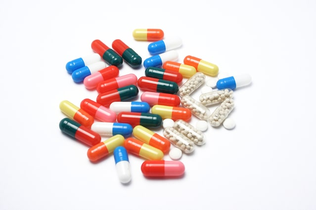 様々な種類の内服薬