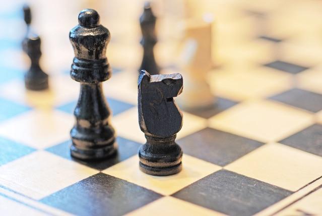 チェスのビショップとナイト