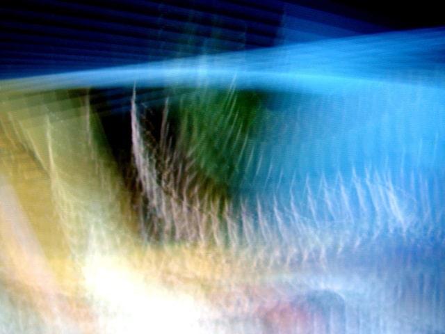 オーロラの様な幻想的な画像