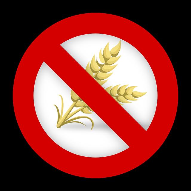 小麦禁止のマーク
