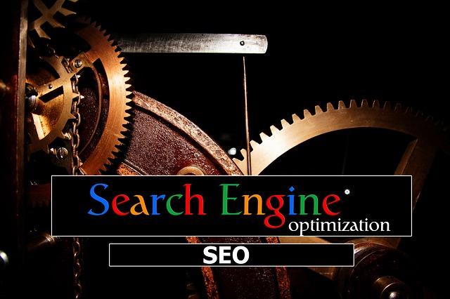 大きな歯車とSearchEngineの文字