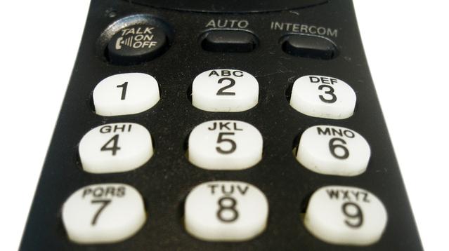 電話機のボタン