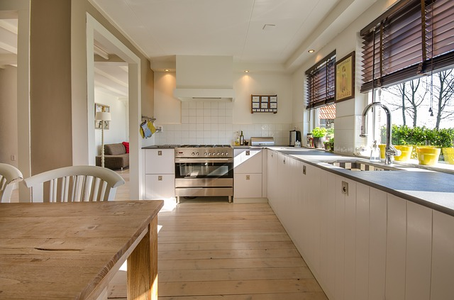 広々とした綺麗なキッチン