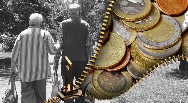 二人の老人と大量の硬貨