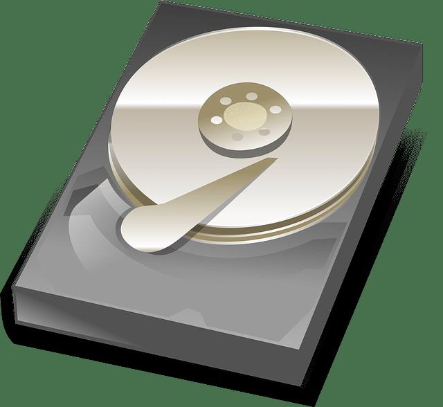 ハードディスクのイラスト
