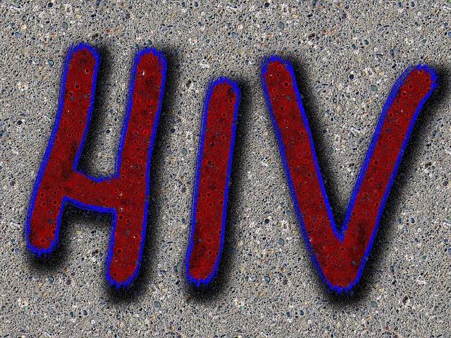 HIVという文字